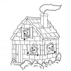A House of Three LittlePigs