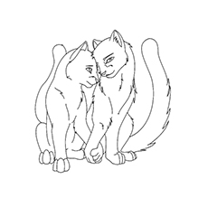 Top 25 Free Printable Warrior Cats Coloring Pages Online