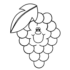 Worksheet. Top 25 Free Printable Lovely Grapes Coloring Pages Online