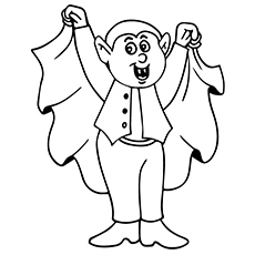 Vampire Coloring Pages Coloring Pages