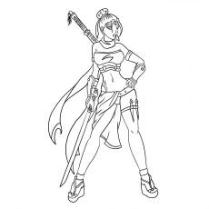 A-Ninja-Girl