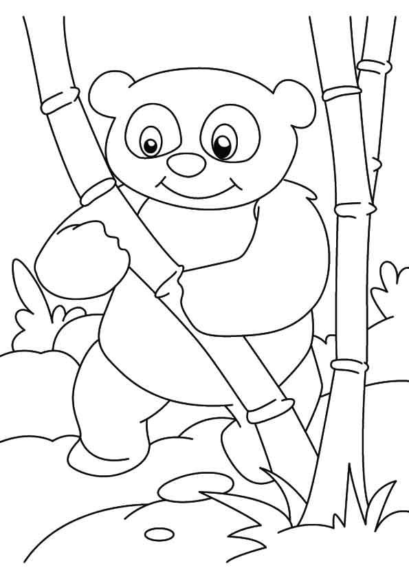 A-Panda-Bear-Coloring-stand