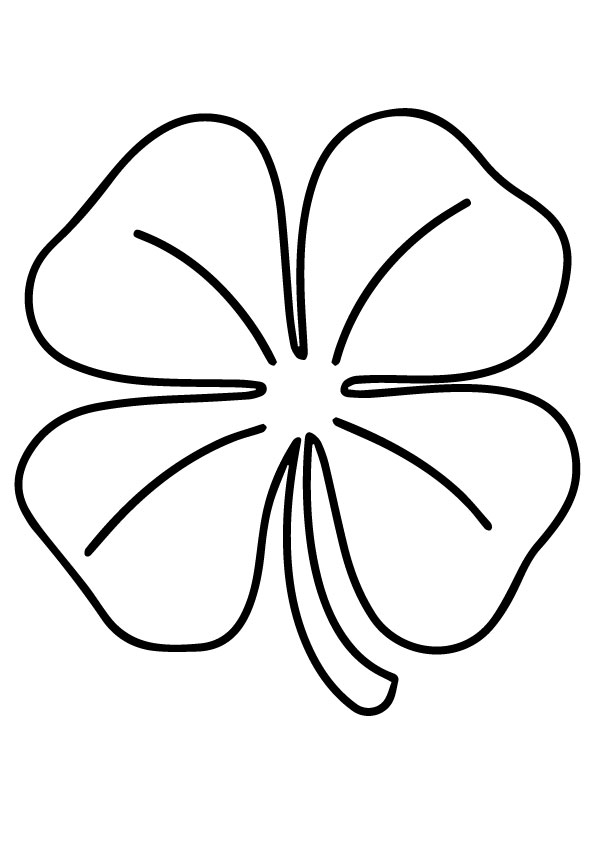 A-leaf-clover_coloring_page-model