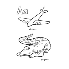 ABC-Alligator-Coloring-Pages-Your