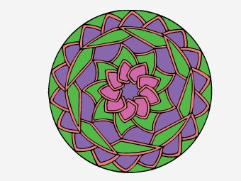 Top 25 Abstract Coloring Pages For Your Little Ones