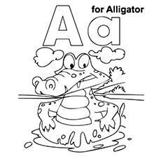 alligator coloring pages your toddler