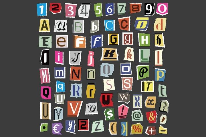 Alphabet hunting