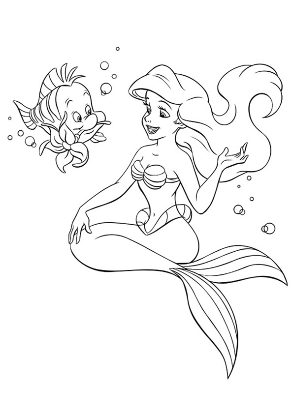 Ariel-And-Flounder-16