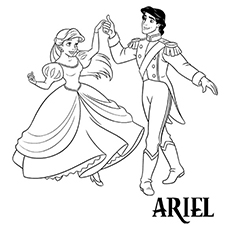 Ariel And Prince Dancing 16