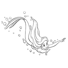 Ariel Taking A Dive 16