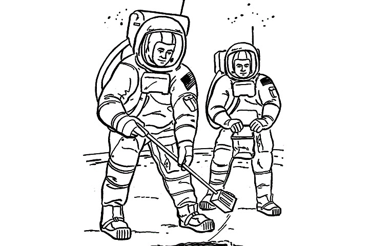 dltk astronaut helmet coloring pages - photo#14