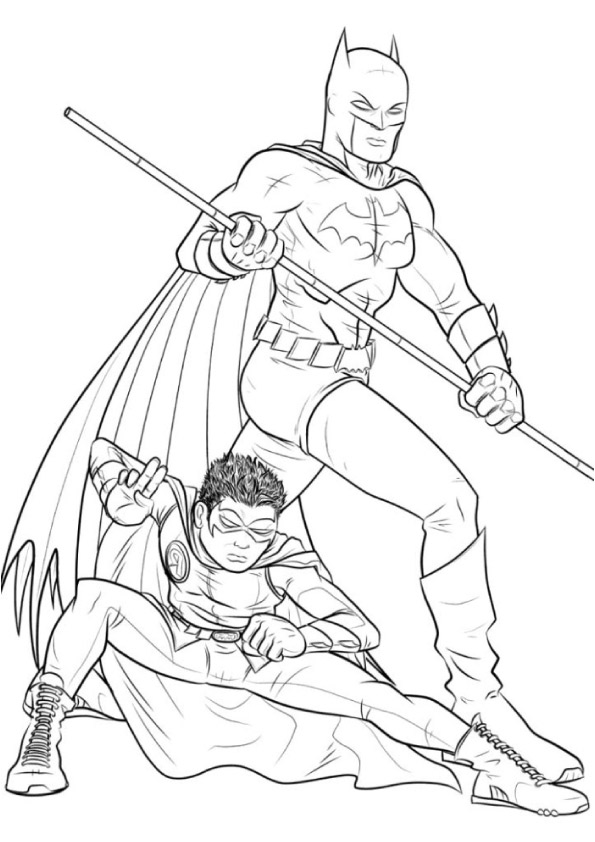 Batman-and-Robin-at-the-time-of-teenage