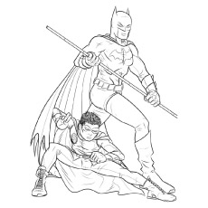 Batman Coloring Pages – 35 Free Printable For Kids