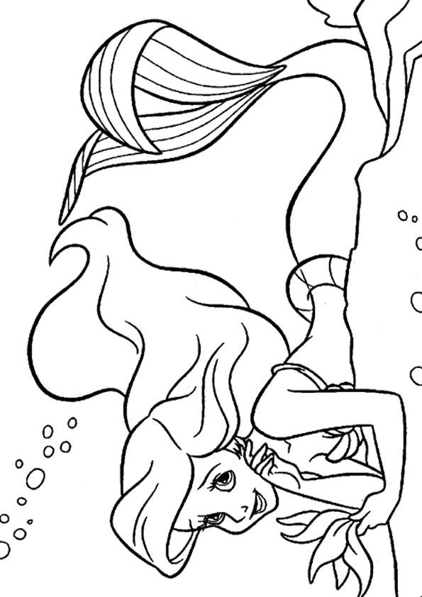 Beautiful-ariel-disney-princess-coloring