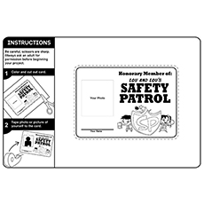 Become An Honorary Safety Patrol Member 16