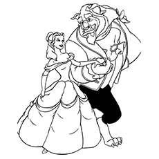 Belle And Beast In Love 16