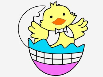 10 Cute Chicks Coloring Pages For Your Toddlers