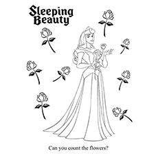 Count The Flowers Sleeping Beauty 16