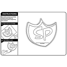 Create Your Own Safety Patrol Badge 16