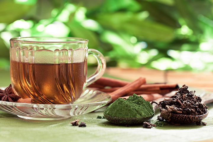 Decaffeinated herbal tea