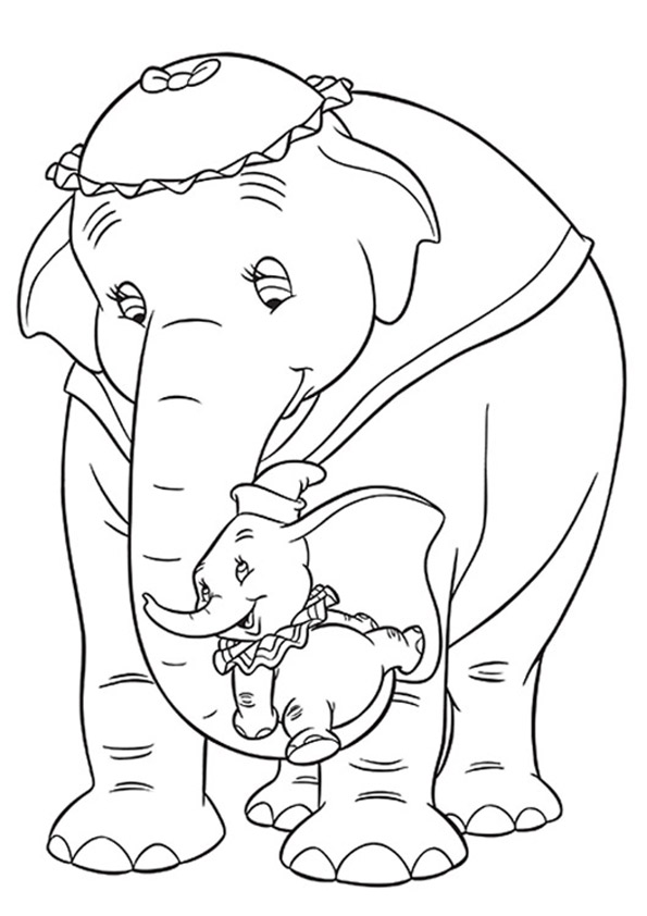 Dumbo-Cuddling-With-His-Mother-16