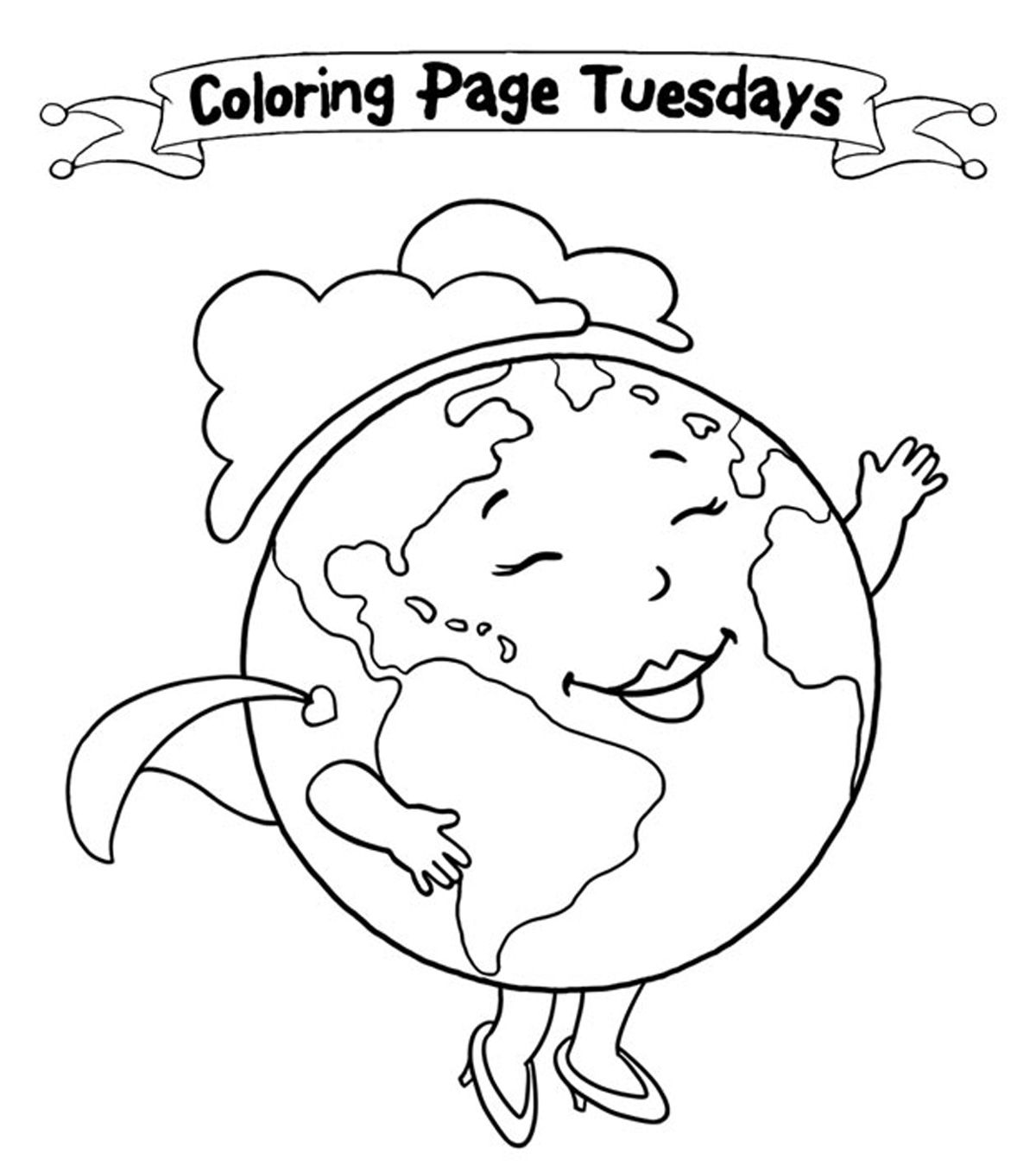 Top 10 Free Printable Earth Day Coloring Pages Online