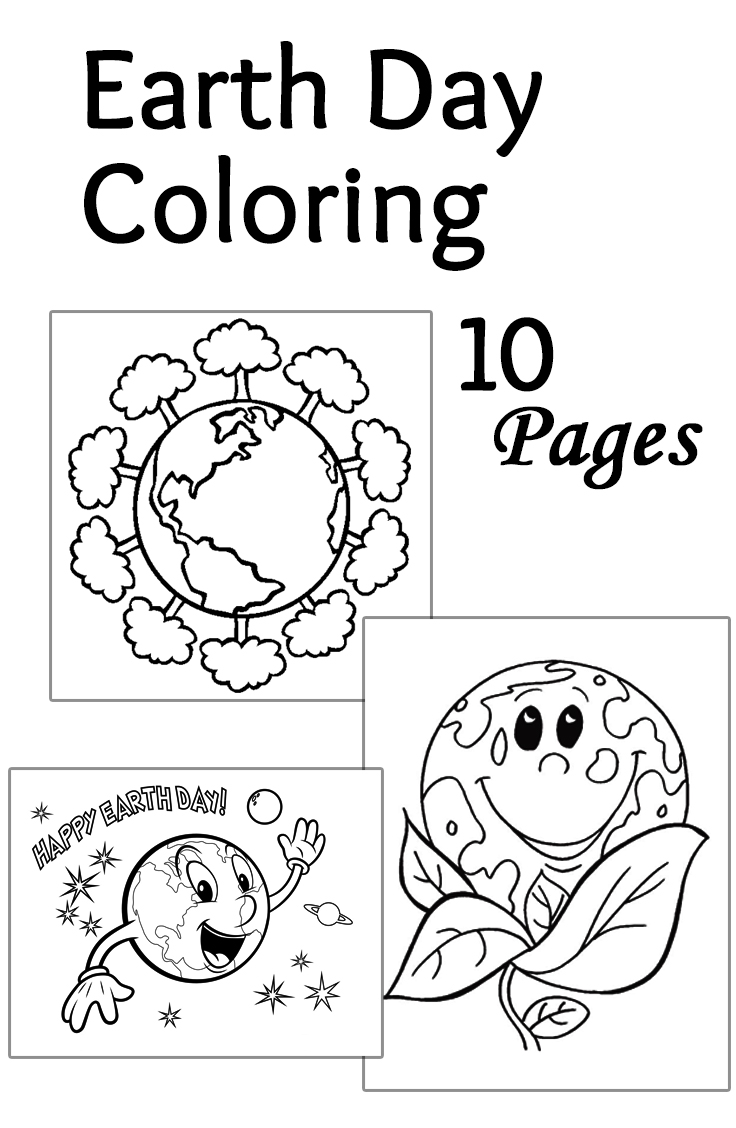 Earth day coloring sheets - Earth Day Coloring Sheets 4