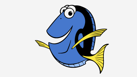 40 Finding Nemo Coloring Pages