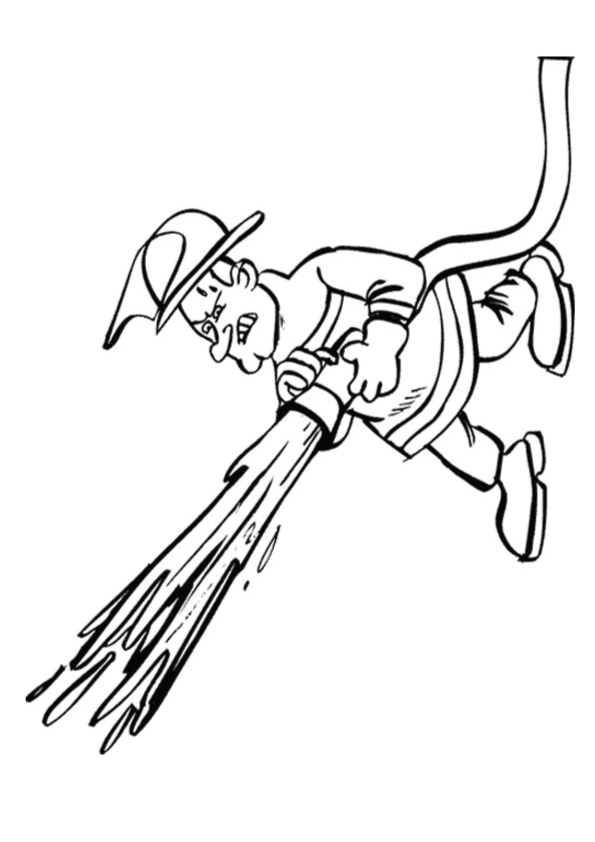 Firefighter-Coloring-Pages