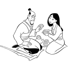 Fuzhou And Mulan Drinking Tea 16