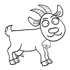 Coloring Pages Of Goat