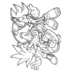 21 Sonic The Hedgehog Coloring Pages - Free Printable