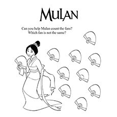Help Mulan Count The Fans 16