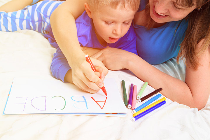 How To Teach Your Toddler To Write The Alphabet