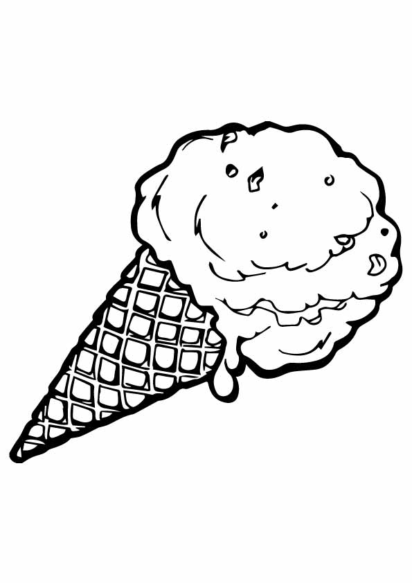 Ice-Cream-Cone-To-Color
