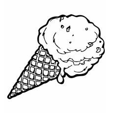 Ice-Cream-Cone-To-Color