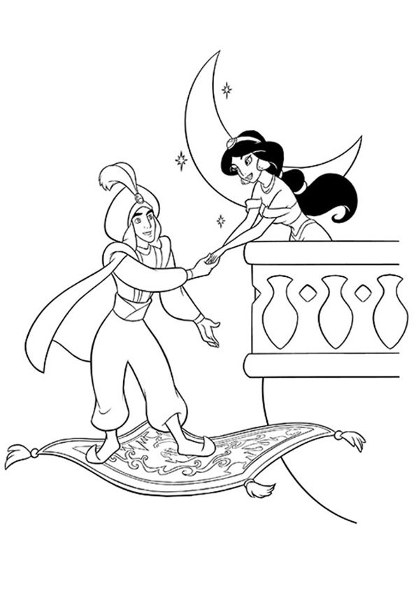 Jasmine-And-Aladdin-At-Balcony-16
