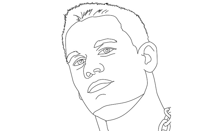 Free John Cena Coloring Pages