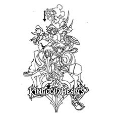 Kingdom-Hearts-Coloring-Pages