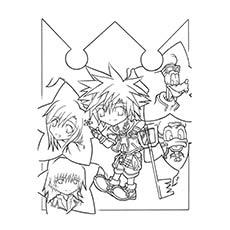 Kingdom-Hearts-Lineart-by-Flamin-Axel