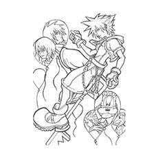 Kingdom-Hearts-Lineart