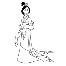Mulan Dressed Up 16
