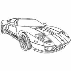 ford coloring pages Top 25 Free Printable Muscle Car Coloring Pages Online ford coloring pages
