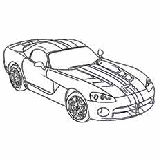 muscle dodge viper car