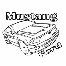 Muscle Ford Mustang New