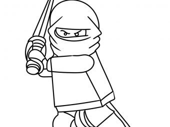 20 Ninja Coloring Pages For Your Little Ones