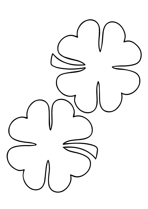 Pair-four-leaf-clovers-for-luck