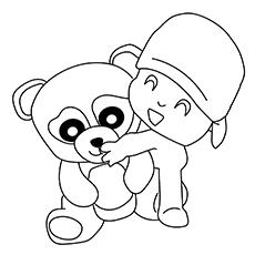 Panda Bear And A boy 17