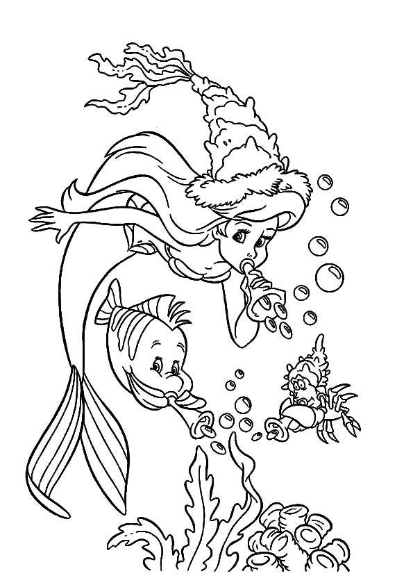 Party-under-water-little-mermaid