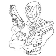 Power Ranger Gun